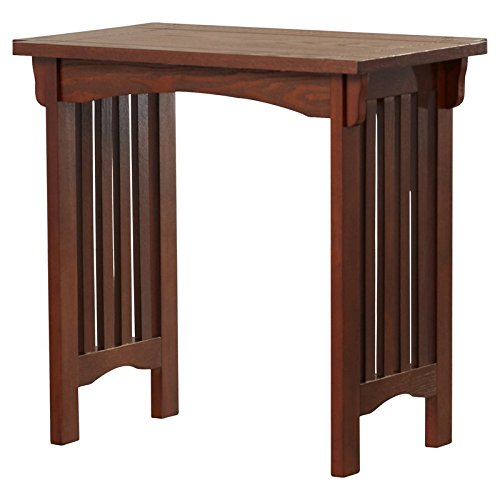 Need Something Classic But New Add This 3 Piece Nesting Tables Made of Veneer and Manufactured Wood in Oak Finish by eCom Fortune