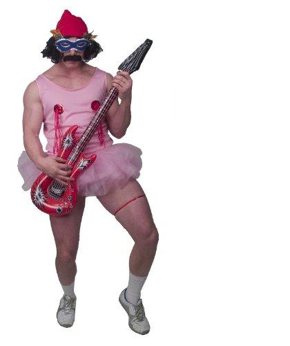 Chong Halloween Costumes (Cheech & Chong Up In Smoke Alice Bowie Pink Tutu Halloween Costume (Standard))