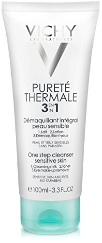 Vichy Pureté Thermale One Step Cleanser for Sensitive Skin, 3.3 Fl. Oz.
