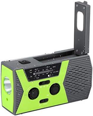 HUBI Radio multifunción, proyector LED Lámpara Solar de Emergencia ...