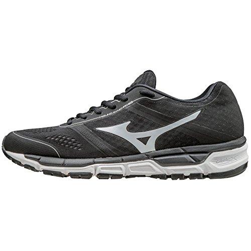 Mizuno Synchro MX Men's Baseball Training Shoe - Black & White (Men's Size 12) (Shoes Mizuno Training Baseball)
