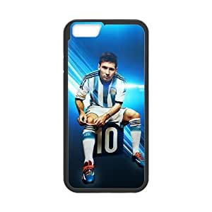 iPhone 6 Plus 5.5 Inch Cell Phone Case Black Lionel Messi