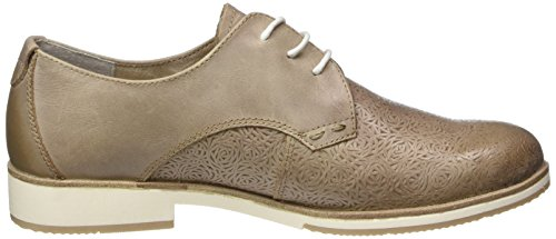 Marco 23206 Stringate Tozzi Oxford Marrone Scarpe Pepper Premio Donna Antic Basse 335 wqBaErwx