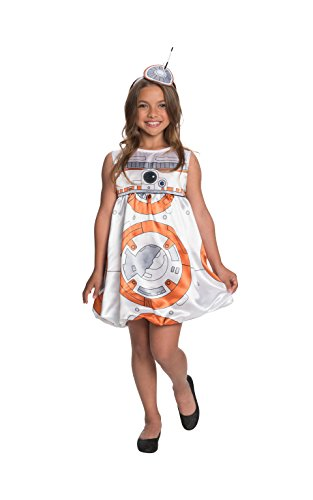 Rubie's Costume Star Wars Episode VII: The Force Awakens Deluxe BB-8 Child Costume, Large -