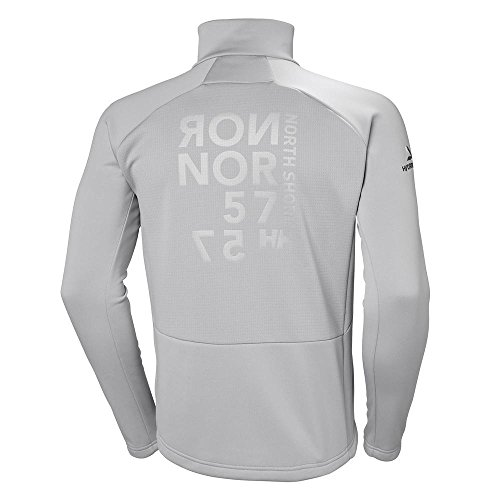 Uomo Helly In Silver Jacket Hansen Grey Pile Hp Fleece Giacca wr00ZXCqx