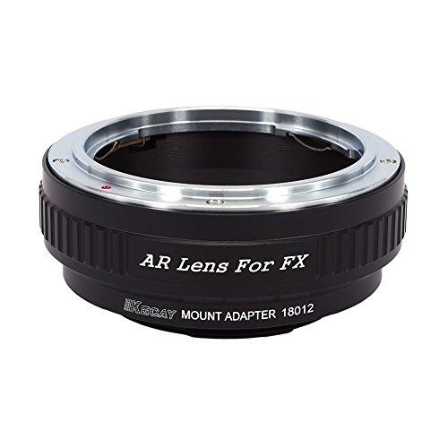 KECAY AR-FX Lens Mount Adapter for Konica AR Lens To Fujifilm X-Series Mirrorless Camera, X-Pro1, X-E1, X-E2, X-A1, X-M1, X-T1, X-T10, Konica-Fuji X Konica Mount