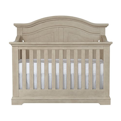 Centennial Chatham Curved Top 4-in-1 Convertible Crib Driftwood For Sale