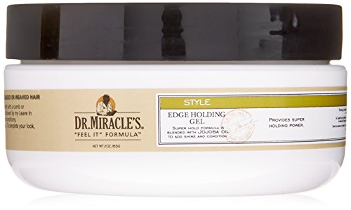 Dr. Miracle's Style Edge Holding Gel, 2 Ounce