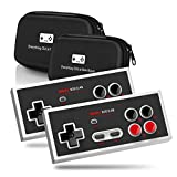 8Bitdo N30 2.4G Wireless Gamepad Double-Pack Bundle - Includes Carrying Case - NES Classic Edition