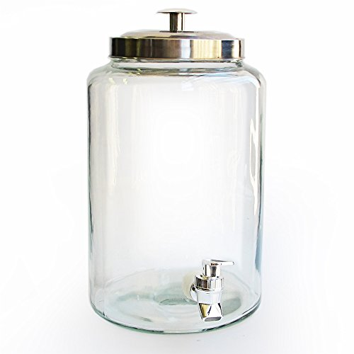 glass beverage urn - 8