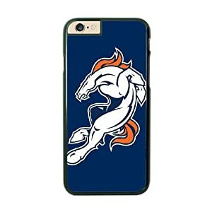 NFL Case Cover For Apple Iphone 4/4S Black Cell Phone Case Denver Broncos QNXTWKHE1612 NFL Customized Phone