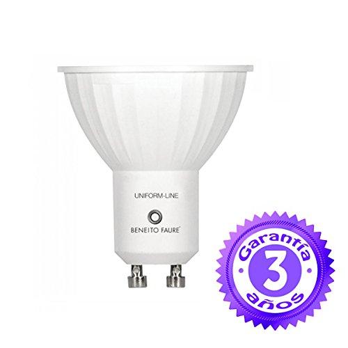 Beneito Faure - Bombilla LED de 8 W ,GU10, 60°, 4000K, luz fría: Amazon.es: Iluminación