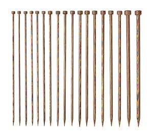 Knit Picks Rainbow Wood Straight 10 Inch Knitting Needle Set (Knitting Set Needle Straight)