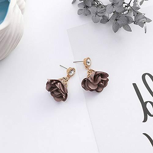 Campton Fashion Women Flower Star Leaf Geometric Pearl Tassel Drop Dangle Hook Earrings   Model ERRNGS - 238  