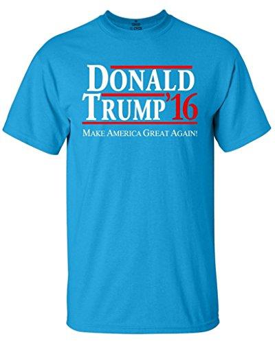 Shop4Ever Donald Trump 2016 T-shirt Political Election Shirts Large Sapphire0