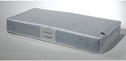 Compactor WOLD of Storage Funda de Almacenaje Extra Plana para Debajo de la Cama Antipolvo, Transparente, Polipropileno y EVA, 45 x 108 x H. 15 cm, RAN2980, Peva 0,1 Mm, Blanco, No