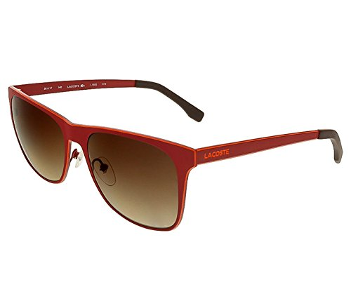 Lacoste L169S 615 Red Wayfarer (Sunglasses Lacoste Red)