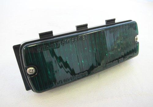 Whelen 500 Series TIR6 Super-LED Sync GRN/GRN Green Lighthead 50G03ZGR 12v & (Tir6 Super Led)
