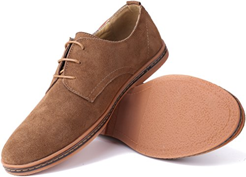 Classic Brogue Suede Shoes Mens