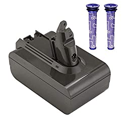 The upgrated Miady Vacuum Cleaner replacement battery adopt high quality 18650 cells.The long battery life and ultra-high discharge coefficient keep the machine running easily even in MAX mode.Miady gives you a clean home! Specifications: Output Volt...