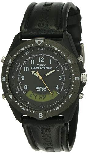 Timex Analog Digital Black Dial Men #39;s Watch TW00MF103