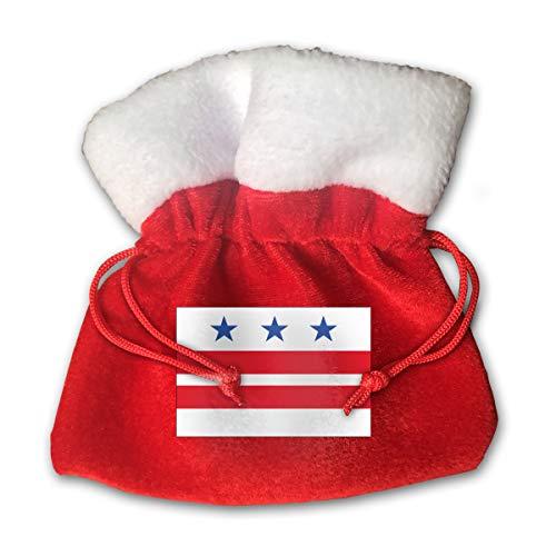 LETI LISW Drawstring Washington DC Christmas Favor Cute