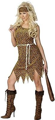 Cavewoman - Disfraz de mujer de las cavernas para mujer, talla XL ...