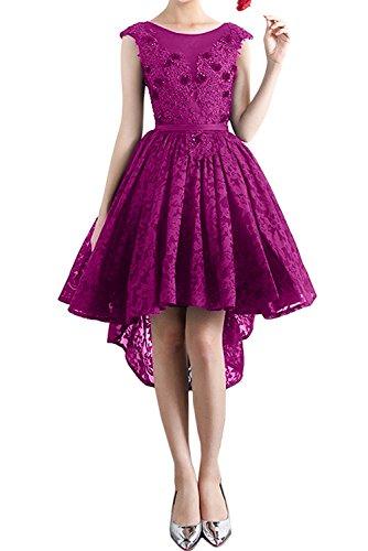 Ivydressing - Vestido - trapecio - para mujer Dunkelfuchsie