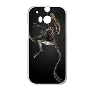 Alien HTC One M8 Cell Phone Case White SUJ8427657