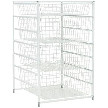 Bon ClosetMaid, 17 In. Drawer Kit With 4 Wire Baskets