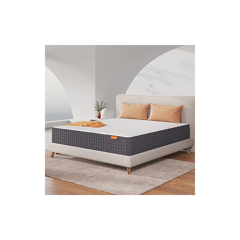 Sweetnight King Mattress, 10 Inch King Size Mattress in a Box, Gel Memory Foam Bed Mattress for Cool Sleep and Pressure…