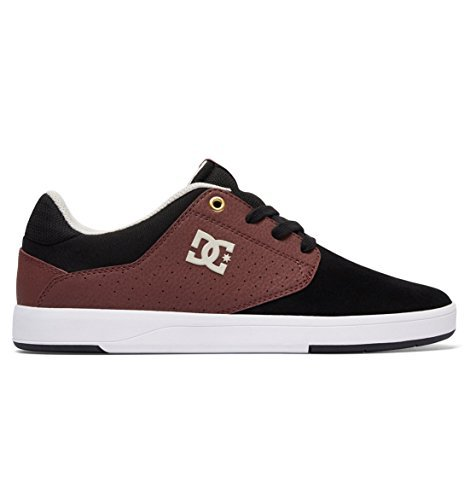 Dc Mens Plein Tc Skate Shoe Zwart / Oxblood