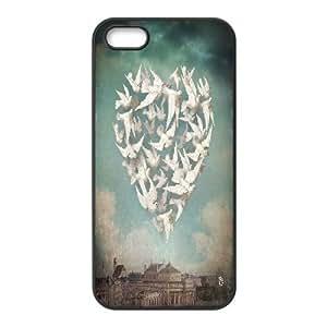 {W Series} IPhone 5,5S Cases Longing, Case Dustin - Black