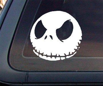 """Jack Skellington 5.5"""" Car Decal / Sticker"""