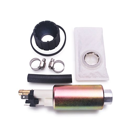 CUSTONEPARTS New Electric Intank Fuel Pump With Installation Kit Fit Ford Mazda Mercury Lincoln E2044