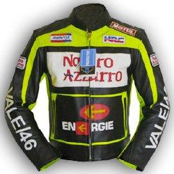 buy popular 91880 fd21f 4Limit Valentino Rossi - Giacca di pelle per motociclista ...