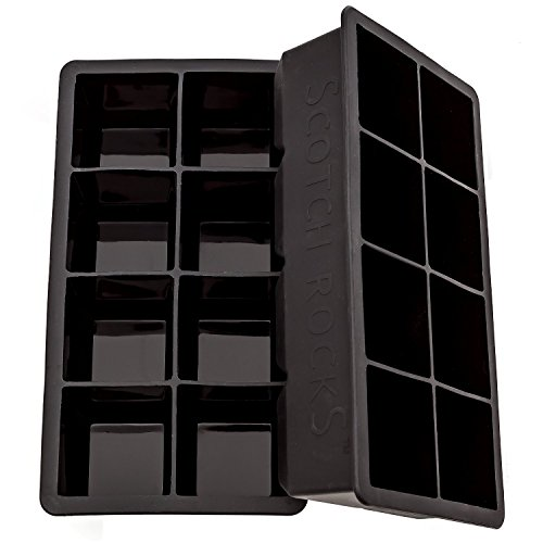 Large Black Silicone Scotch Rocks product image