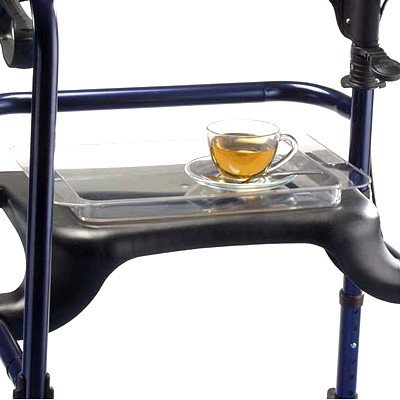 (Invacare Rollator Clear Acrylic Molded)