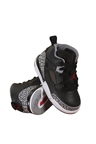 Toddler Nike Air Jordan Spizike BT Black Cement Black/White/Red (5C)