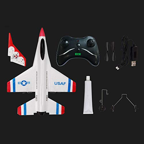 Yu2d_ Drone Accessories Yu2d 🛩🛩FX-823 2.4G 2CH RC Airplane Glider Remote Control Plane Outdoor Aircraft by Yu2d_ Drone Accessories (Image #4)