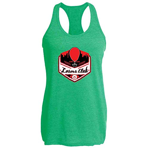 (Pop Threads Losers Club Derry Maine Logo Horror Halloween Heather Kelly S Womens Tank)