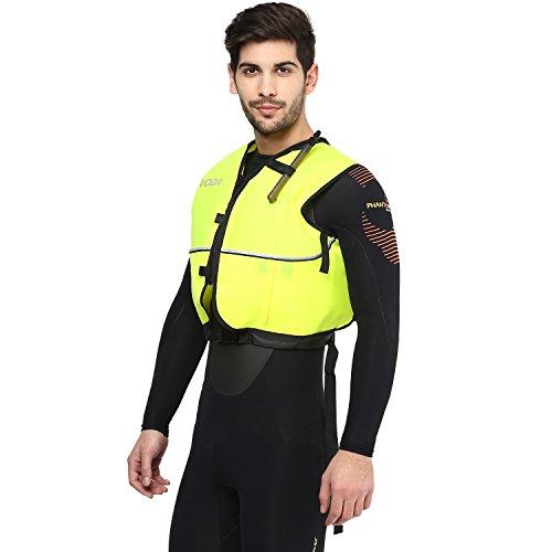 Phantom Aquatics Deluxe Snorkel Vest, Yellow