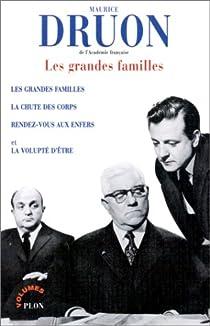 Les grandes familles par Druon