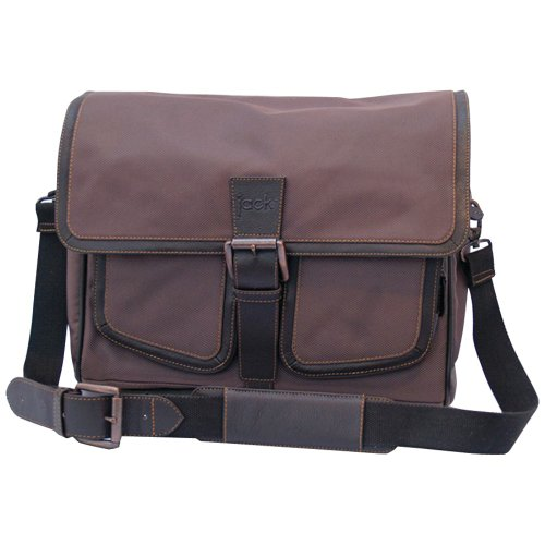 Jill.e Designs Jack Small Messenger, Brown - 049704