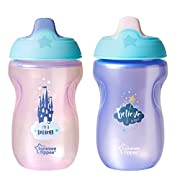 Tommee Tippee Sippee Cup, Pink and Purple, 10 Ounce, 2 Count