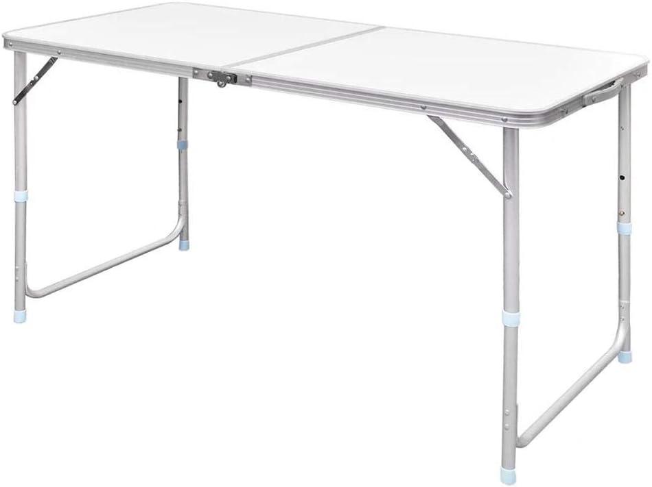 SOULONG Mesa Plegable para Acampar, Mesa de diseño Extensible portátil con asa de Transporte, Aluminio liviano Durable para cocinas BBQ Patios Jardines al Aire Libre 120 x 60 x 70 cm: Amazon.es: Hogar