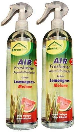2 x AIR-Freshener, Aqualuftwäsche, Lufterfrischer, Geruchsvernichter, Geruchsentfener