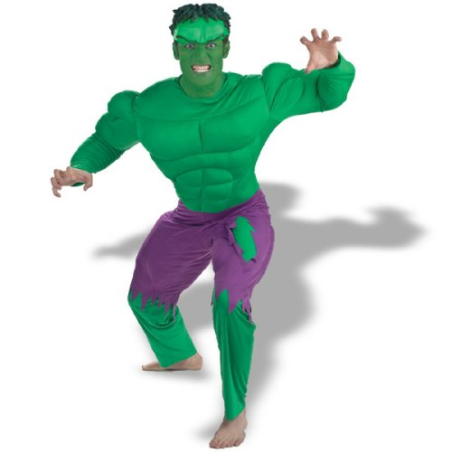 Hulk Adult Deluxe Muscle Costume - Standard One-Size