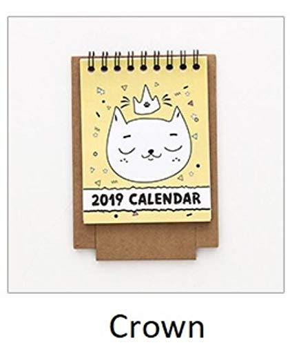 Best Quality - Calendar - New Arrival 2019 Mini Pocket Size Paper Calendar, Cute Small Desktop Table Calendar, Students Stationery Promotion Gifts - by chipsua - 1 PCs