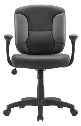 Sauder 411378 Office Chair Gray Duraplush Task - Chair Sauder Office Furniture